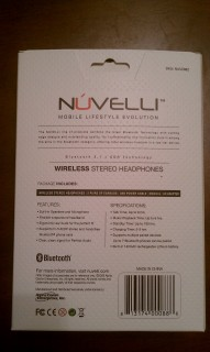 Believe it or not, it's the back of the Nuvelli box!