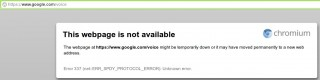 Google-Voice-down
